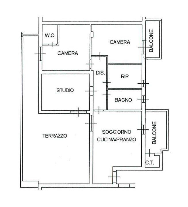 Plan attico